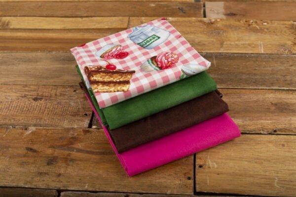 pack telas de algodón