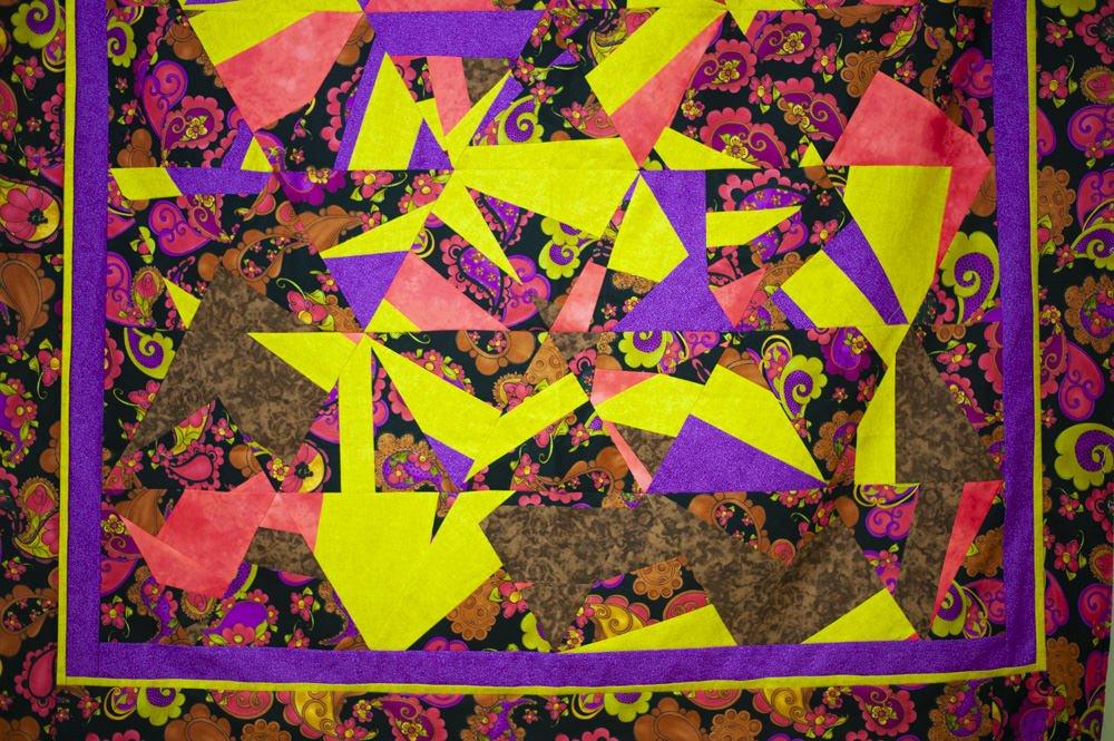 decostrucción del triangulo equilátero